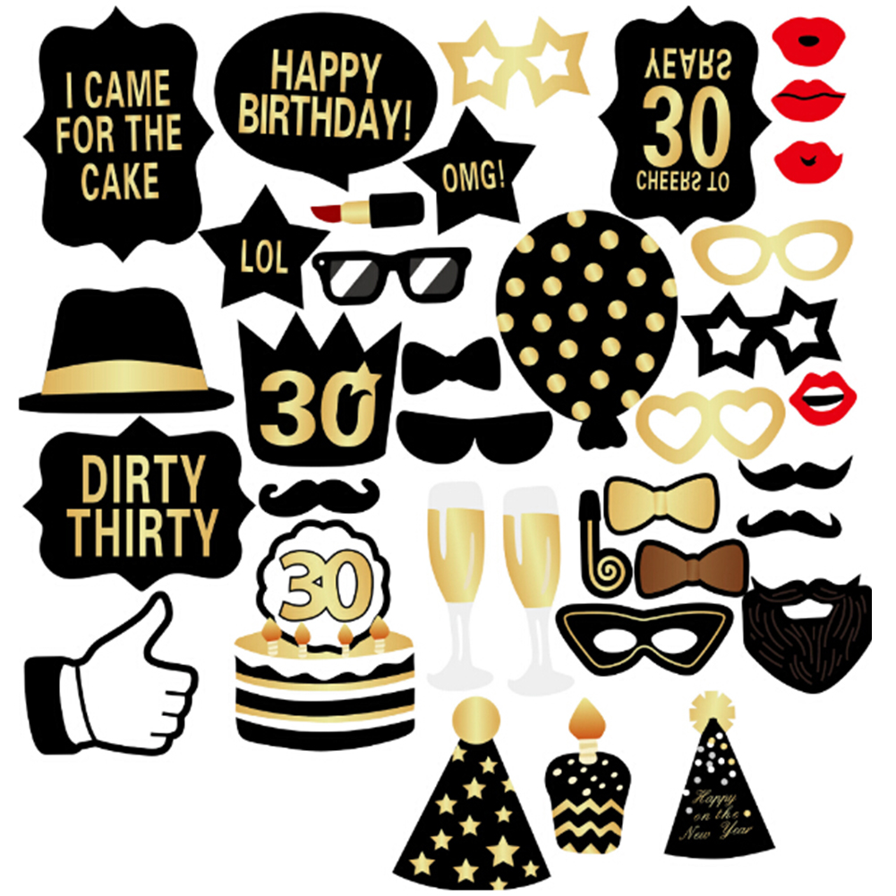Compare Prices on 30th Birthday Decorations- Online Shopping/Buy ...
