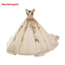 Backlakegirls Vintage Ball Gowns Wedding Dress Sleeveless