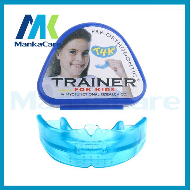 1 unids t4k entrenador dentista aparato dental Infantil buck dientes de ortodoncia invisible anti molar paréntesis de los dientes de cuidado dental