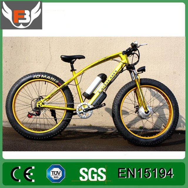 Electric bicycle 500W 10.8ah 21 speed powerful electric bicycle lithium battery electric bicycle sends 26 x 4 cross-country bike