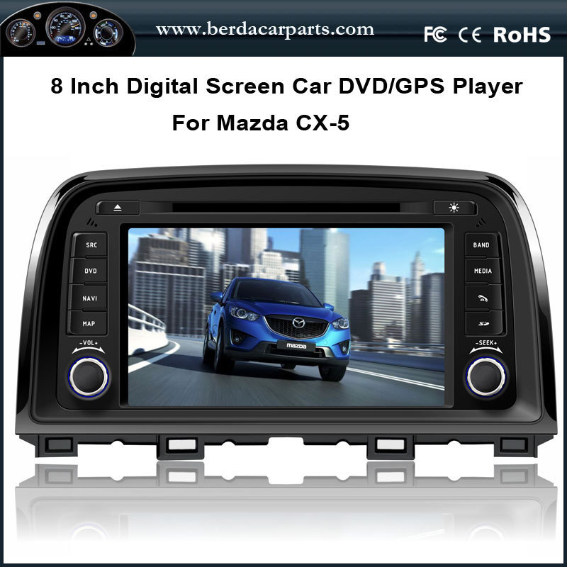 Car DVD Radio Player For <font><b>Mazda</b></font> CX-5 <font><b>CX5</b></font> With Canbus GPS <font><b>Navigation</b></font> A8 Chipest Bluetooth USB/SD Free Map image