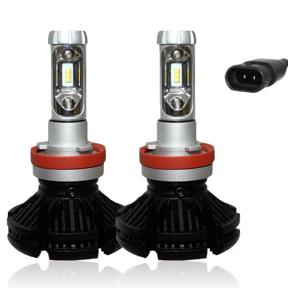 MyHung X3 H7 H11 9005 9006 H10 H11 Λαμπτήρας - Φώτα αυτοκινήτων - Φωτογραφία 3
