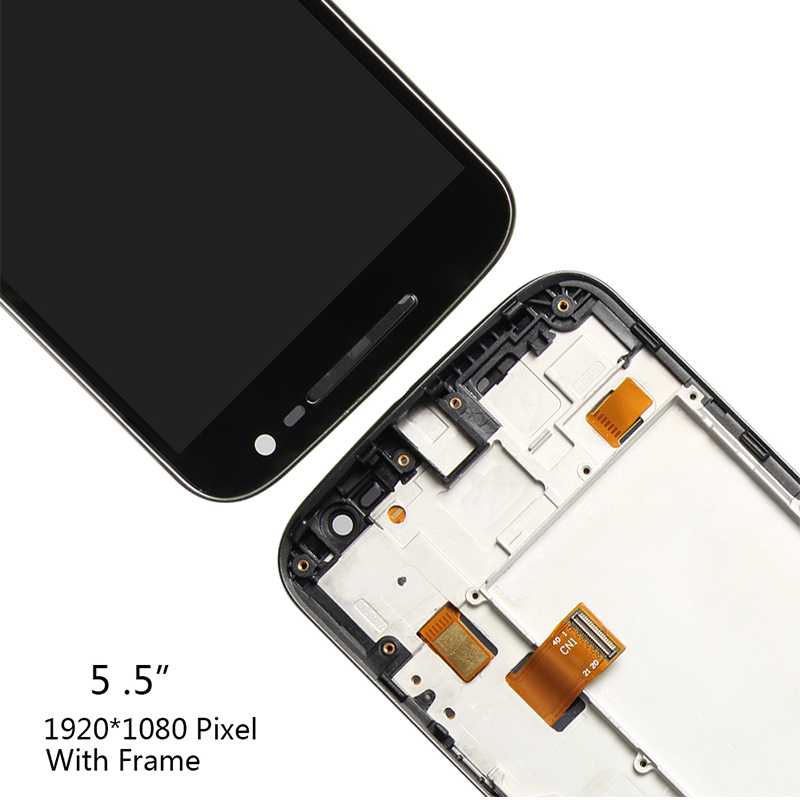 Original LCD Display For Motorola Moto G4 Touch Screen XT1622 XT1625 XT1620 XT1621 Digitizer Assembly Replacement Black White in Mobile Phone LCD Screens from Cellphones Telecommunications