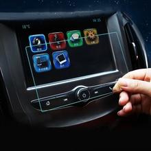 Автомобильный навигатор закаленное Стекло Экран протектор Сталь portective Плёнки для Chevrolet Cruze 2015 2016 2017 автомобилей Средства для укладки волос