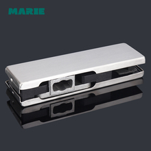 201 stainless steel frameless glass door lock accessories patch fittings Hardware Lock