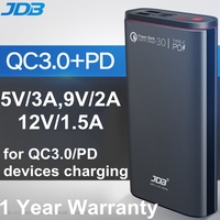 JDB Powerbank 20000mah PD Power Bank 20000 mah QC 3.0 18W for iPhone XS Xiomi Mi8 Samsung S9 Huawei Nexus 5X 6P Portable Charger