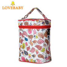 Fashion portable Baby Thermal Feeding Bottle Warmers Mummy Tote Bag Hang Stroller Pouch Winter Holder Hanging Cooler