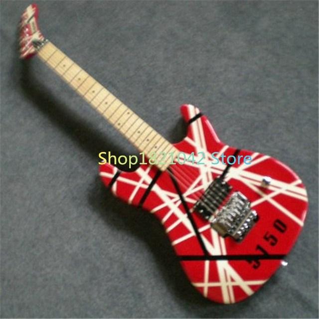 Best Price Kramer Evh Eddie Van Halen 5150 Sttoster Black Amp Red White Frankenstrat Frankenstein Stat Electric Guitar Deposit