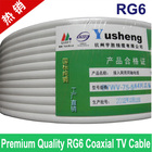 Premium Quality RG6 coax coaxial TV cable wire, Wholesales of 100feet/lots,Free shipping/Tracking number