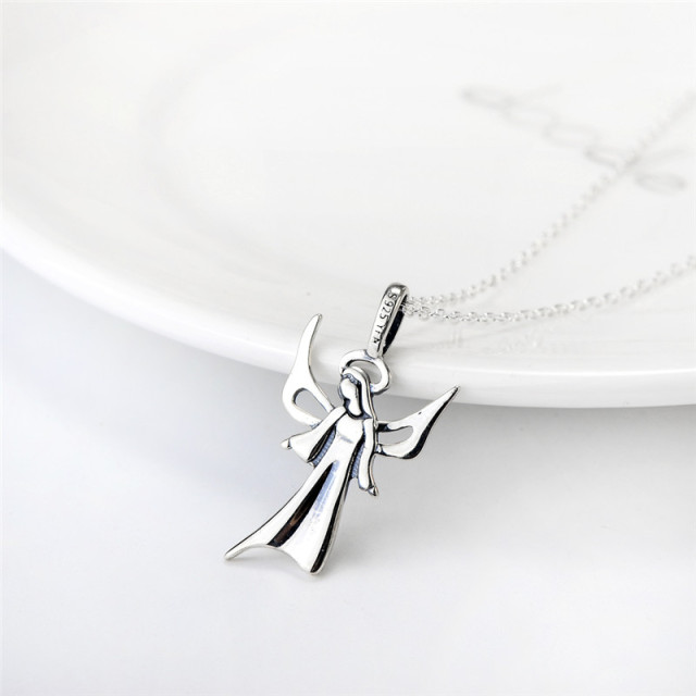 YFN The Holy Saint Maria Jewelry 925 Sterling Silver Necklace Fashion Jewelry Necklaces & Pendants For Women and Men GNX10891