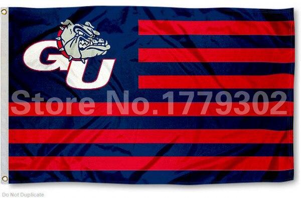 Gonzaga Universität Flagge 3