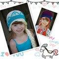 Elsa Anna Menina Chapéu Do Bebê quente Do Bebê Criança Owls Crochet Knit Tampão do inverno Do Bebê Recém-nascido Fotografia Props Chapéu Do Bebê Crianças Chapéus CJL23