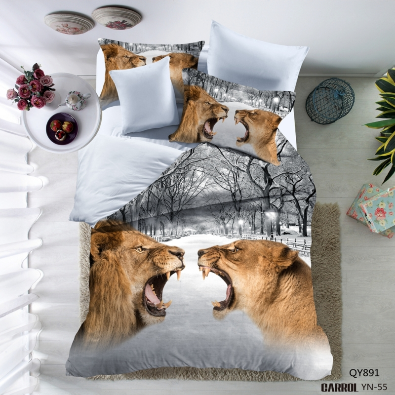 Lai Yin Sun Include Duvet cover Pillow cases 3D Bedding set 2OR 3PCS New 3D Duvet Cover Set Comfortable Bedding Twin Full Queen