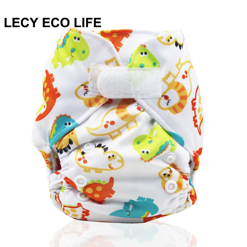 цены LECY ECO LIFE 1Pc Diaper Flushable microfleece baby Cloth Diaper 0-3months Newborn Baby Nappy Factory-direct-nappies ,Wholesale