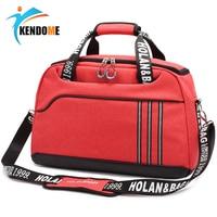 Hot Outdoor Waterproof Sports Gym Bag Women Fitness Yoga Training Shoulder Bag Men's Multifunction Travel Handbag Crossbody Bag