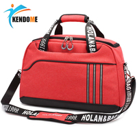 Hot Outdoor Waterproof Sports Gym Bag Women Fitness Yoga Training Shoulder Bag Men's Multifunction Travel Handbag Crossbody Bag