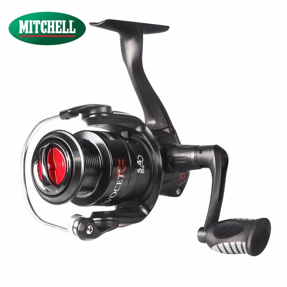 Mitchell 2017 AVRZ 4 + 1BB 1000 2000 3000 4000 moulinet de pêche filature avant glisser gauche droitier carpe pêche filature roue