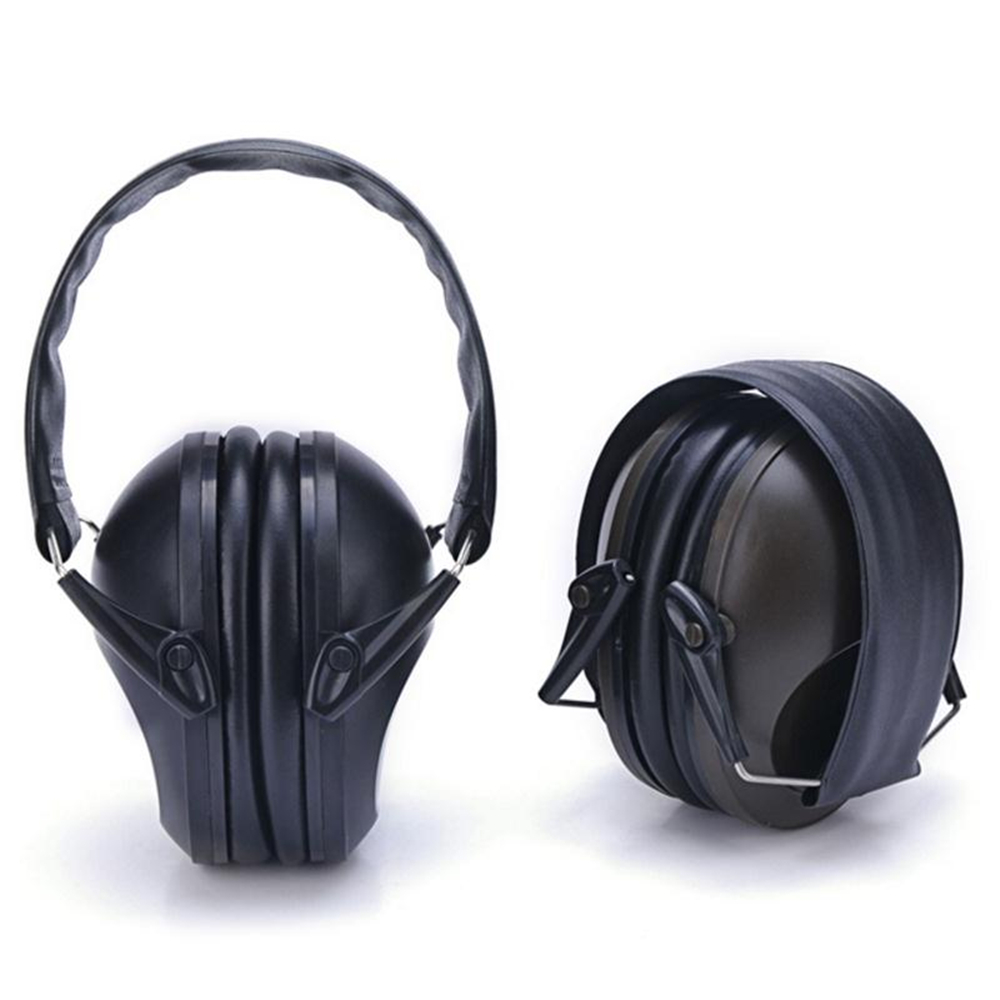 Amzdeal Outdoor Fold Anti-noise Headphone Shooting Hunting Hearing Protection Ear Soundproof Earmuff Ear Muff Headband Earphone купить