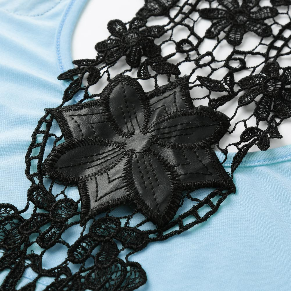 20dbf12f2be376 4XL Plus Size Crochet Lace Back Tank Top Women Backless Sexy Summer Top  Casual Sleeveless Chiffon Vest Debardeur Femme Shirt Top