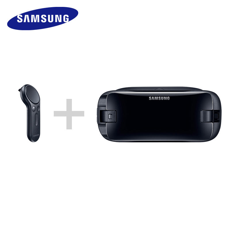 Gear VR 5.0 3D Glasses Samsung VR 3D Box For Samsung Galaxy S8 S8+ Note7 Note 5 S7 S9 Smartphones With Bluetooth Controller 5