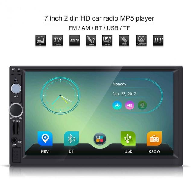 7 inch gps mp5 player 2 din hd touch screen bluetooth gps car stereo7 inch gps mp5 player 2 din hd touch screen bluetooth gps car stereo radio fm