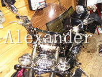 New Moto Bike Motorcycle Motorbike Windshield Windscreen For Honda Shadow ACE RS 750 Aero Spirit 1100