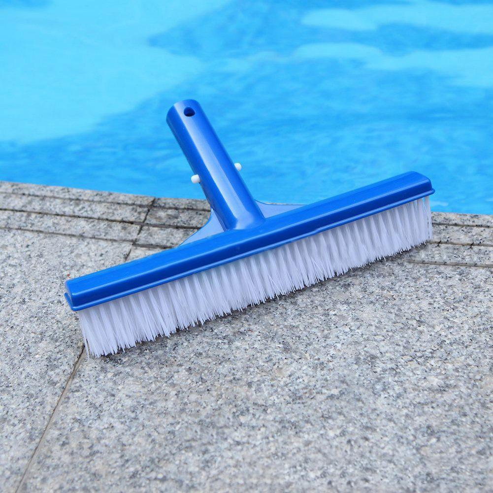 40# 10inch Swimming Pool Bottom Pond Wall Dirt Moss Brush Head Cleaning Accessories Outdoor Pool Cleaning Brush Head