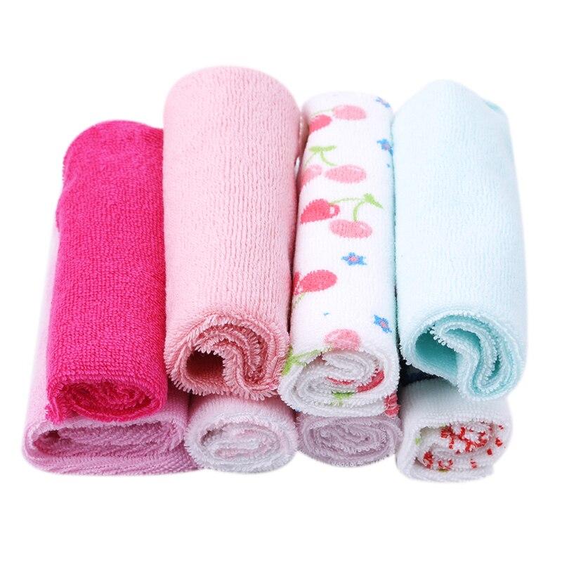 8pcs/pack Cotton Newborn Baby Towels Saliva Towel Nursing Towel Baby Boys Girls Bebe Toalha Washcloth Handkerchief|Towels|Mother & Kids - title=