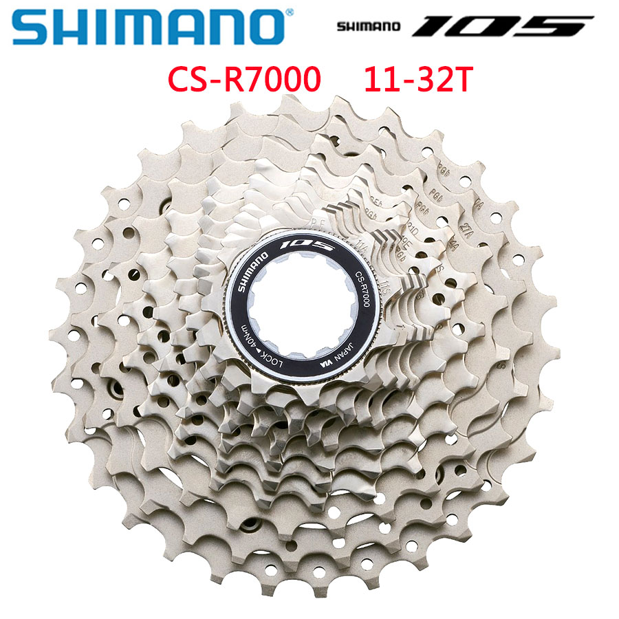 New in box Shimano 105 CS-R7000 11-32T 11 Speed Cassette