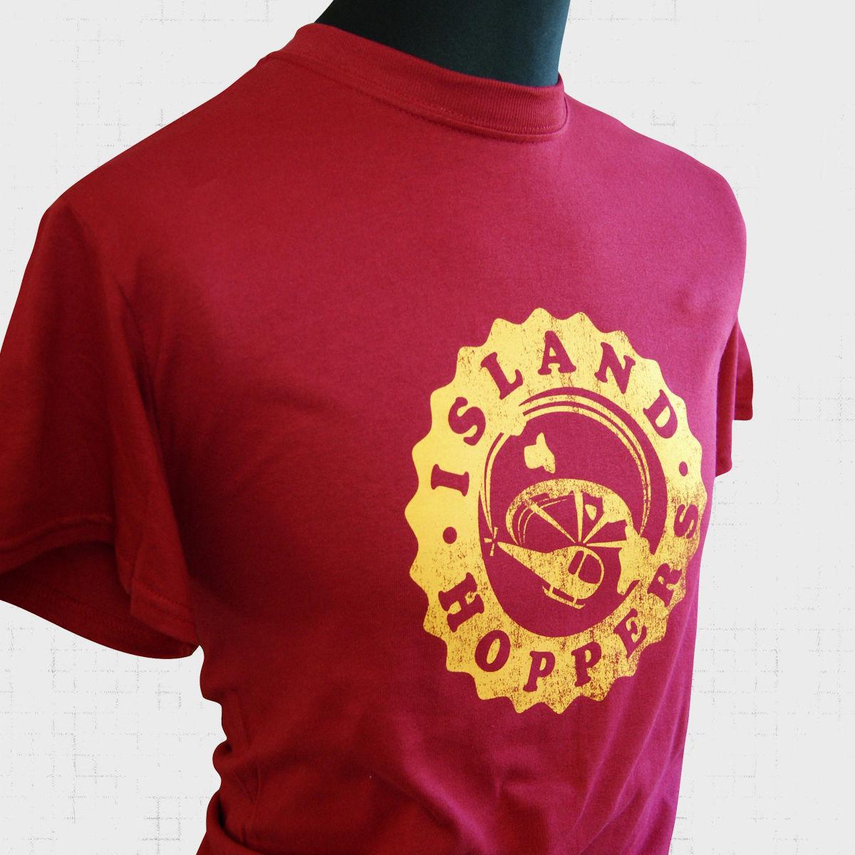 ISLAND HOPPERS LOGO Kids Boys T-Shirt Tom TV Selleck Hawaii Retro Kult Magnum
