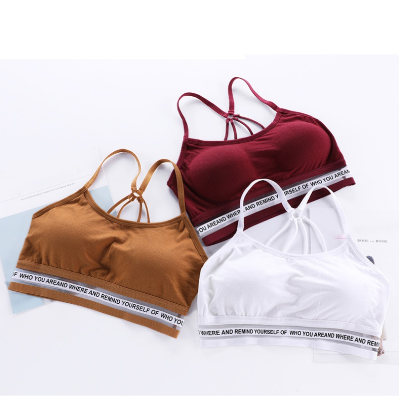 2018 Women Crop Top Parachute Belt Lingerie Sexy Wire Free Seamless Push Up Bras image