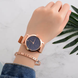 Watch Casual Clock Rose-Bracelet Quartz Girl Ladies Lovers Luxury Lvpai-Brand Starry