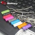 Dr. memória Pendrive 64 GB USB Stick USB 2.0 com Corrente 9 cores mini Flash Drive USB minúsculo Presente de Natal 4 GB 8 GB 16 GB 32 GB 64 GB