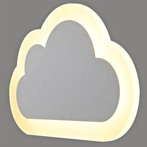 Image 4 - 8W Modern LED Wall Lights Clouds Wall Sconce Lamp For Bedroom Study Room Foyer Acrylic Home Decoration Warm White and white