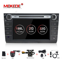 MEKEDE 2+32G android 9.1 Car multimedia player for Suzuki Swift 2004 2011 support gps dvd navigation radio ipod wifi BT RDS
