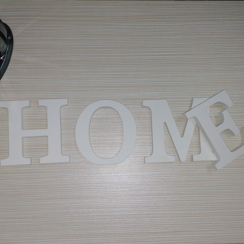 English Letters Wooden Wall Stickers 1
