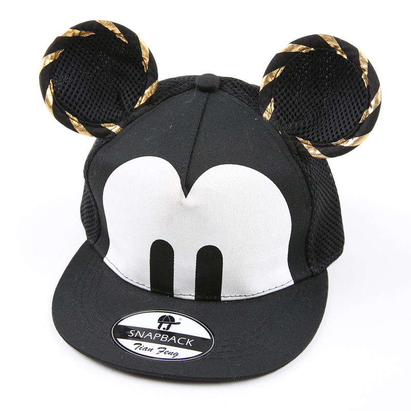 mickey mouse baseball hat for toddlers cartoon cute font children cap big ear