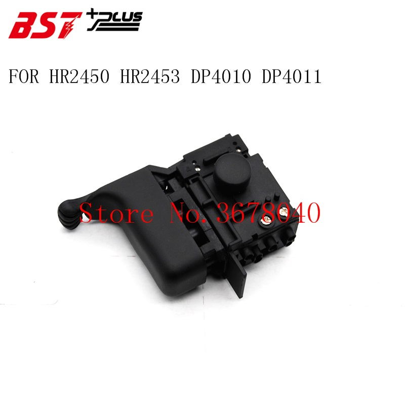FREE SHIPPING! Electric Hammer Drill Speed Control Switch For MAKITA HR2450/HR2453/DP4010/DP4011