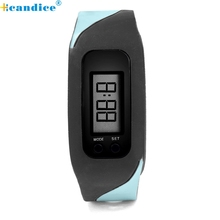 Reloj 2017 New Bestselling Run Step Strolling Distance Calorie Counter Watch Bracelet Dropshipping 17feb8