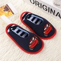 2016 New Cotton Slippers Winter Child Household Shoes Bag Chrismas Gift Warm Home Shoes Cartoon Indoor Slipper Open Heel