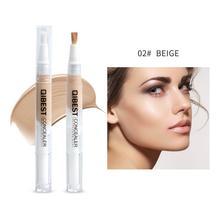 New Brand Face Makeup 5 Colors Optional Concealer Liquid Bru
