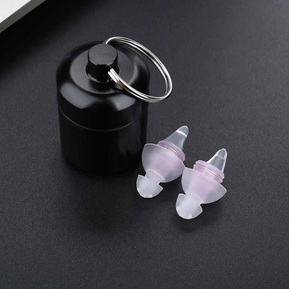 Earplugs Musical Filter Noise Reduction Cancelling Hearing Protection Sleeping Silicone Reusable Earbud Anti Noise Ear Plug