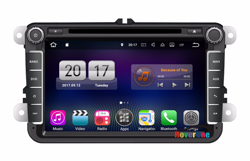 Для VW Tiguan Touran Sharan Scirocco Жук Amarok T5 GP Android 7.1 автомобиль DVD Радио стерео Мультимедиа навигатор головного устройства
