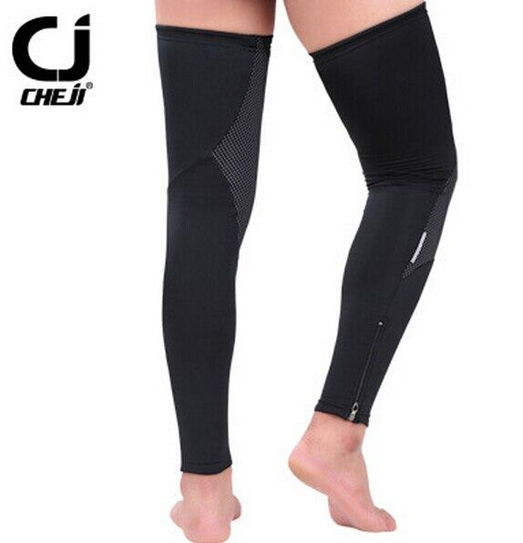 New CHEJI Ares Fleece Bicycle Cycling Leg Warmers Bike Riding Outdoor Warm Cuffs