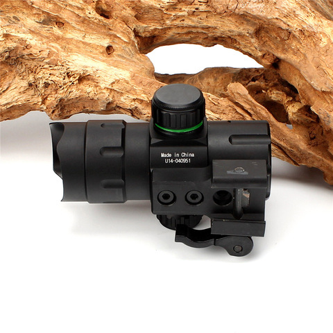 sight scope tatico com qd montar adaptador riser scp ds3840w