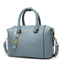 2017 New Bag for Women Classic Concise Korean Style Fashion Office Ladies Handbags Solid Color Red Black Sky Blue Crossbody Bags