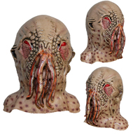Tentacle Octopus Horror Mask Halloween Funny Party Scary Animal Latex Mask For Women Men Masks Halloween