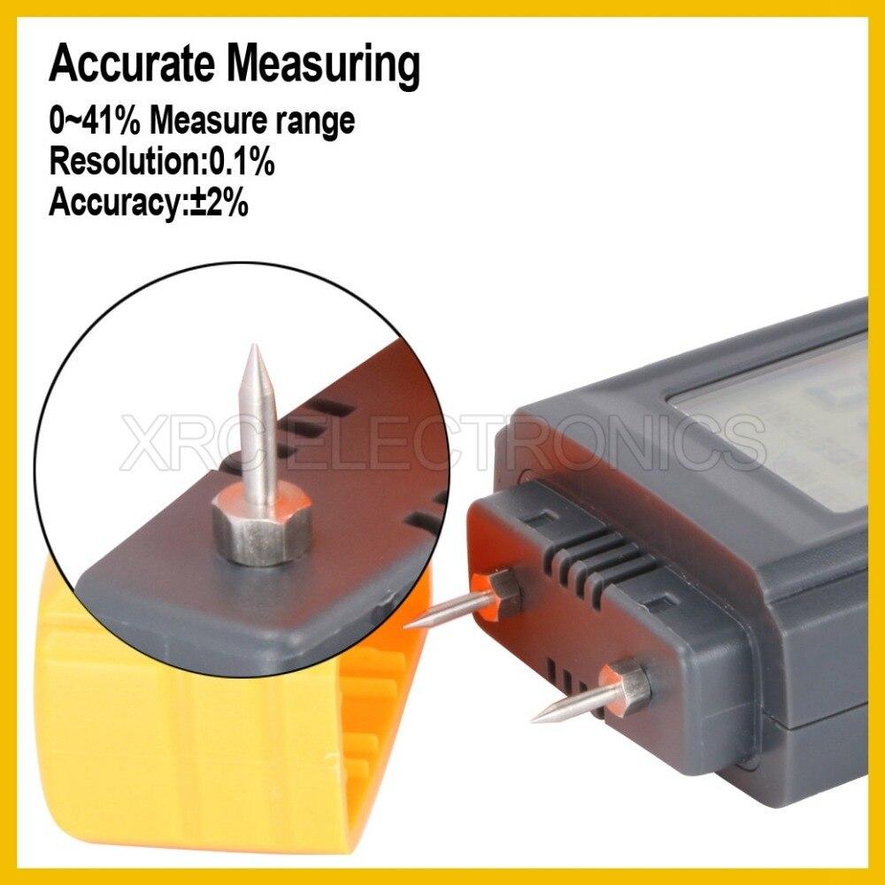 Feuchtigkeit Meter Rz St8040 Professionelle Holz Feuchtigkeit Meter Große Lcd Display Mit Hintergrundbeleuchtung Temperatur Analysatoren