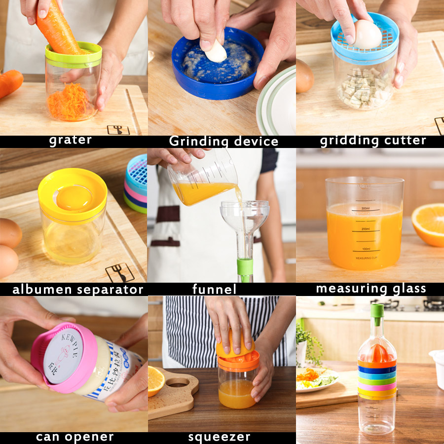 Image result for 8-in-1 Bottle Shape Multifunction Kitchen