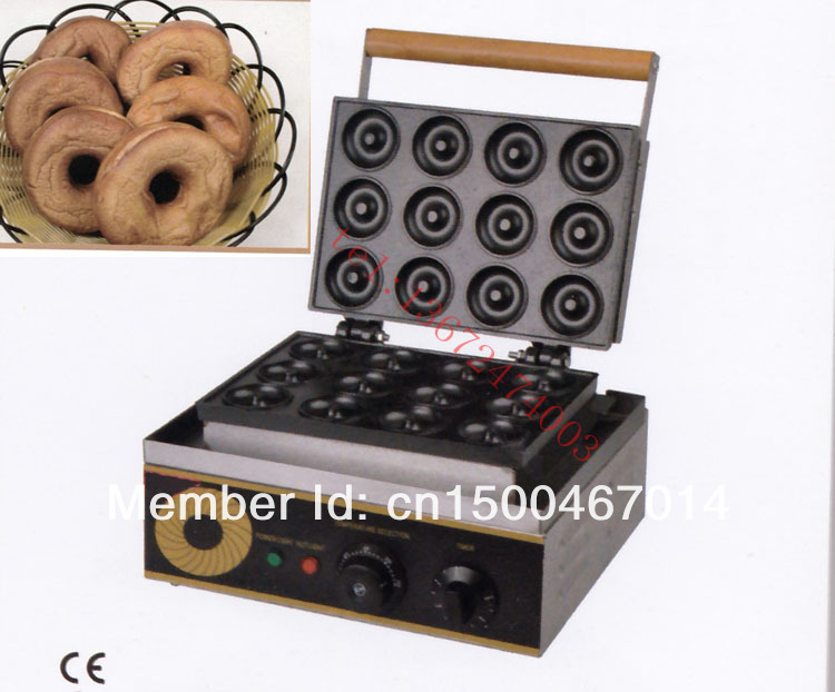Electric 12-hole ROUND CAKE GRILL| sweet donut maker| electric for cake baker | waffle maker/Cookie machine/donut fryer 1pc electric 220v 110v 6 hole round cake grill sweet donut maker electric for cake baker waffle maker